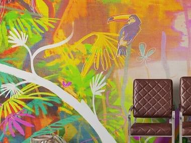 Papel de parede tropical TROPICAL POP