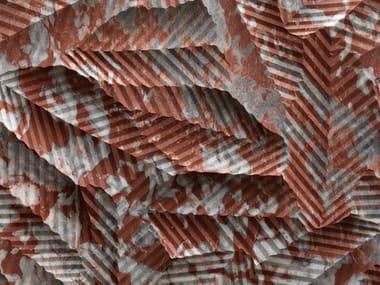 Rivestimento tridimensionale in marmo TROPICO