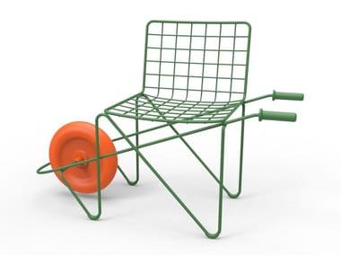 Steel kids chair TROTTER