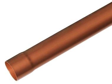 Tubo pluviale effetto ramato TRT6310 / TRT6320