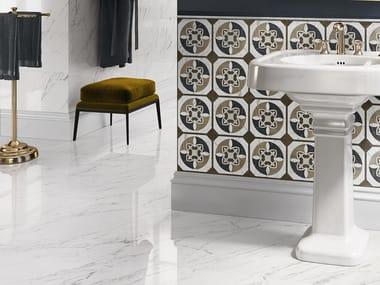 Porcelain stoneware wall/floor tiles with marble effect TRUMARMI VENATINO