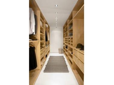 Sectional walk-in wardrobe TRUST