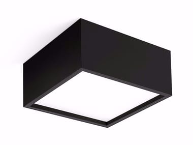 LED direct light ceiling lamp TRYBECA SURFACE SQUARE