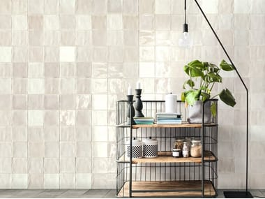 Indoor ceramic wall tiles TSQUARE WALL