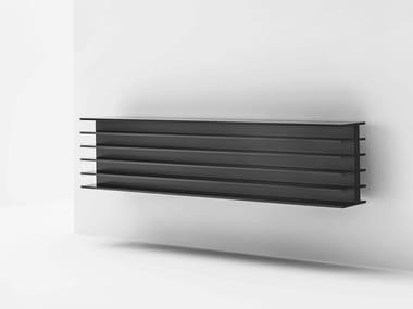 Radiateur décoratif à basse température en aluminium extrudé TT | Radiateur décoratif horizontal