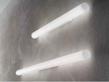 Lampada da parete / lampada da soffitto in alluminio e vetro TU-TOP