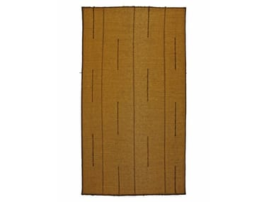 Rectangular wooden mat TUAREG ST035TU