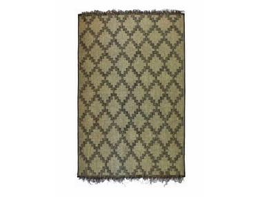 Wooden mat with geometric shapes TUAREG ST76TU