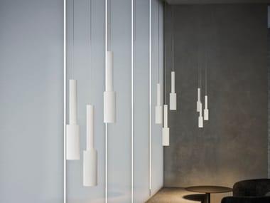 LED aluminium pendant lamp TUBINO | Pendant lamp