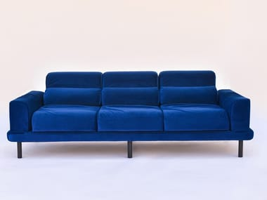 3 seater velvet sofa TUBULAR | 3 seater sofa