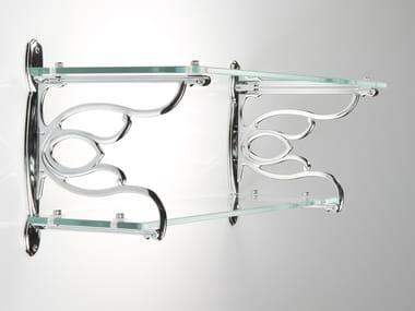 Glass wall shelf TULIP
