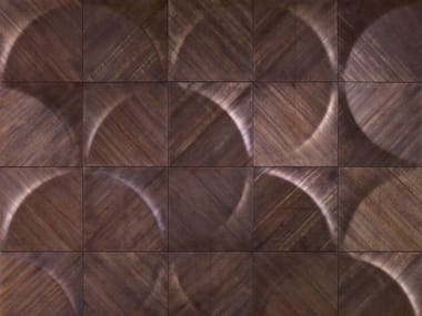 Modular wooden 3D Wall Panel TUNGUSKA
