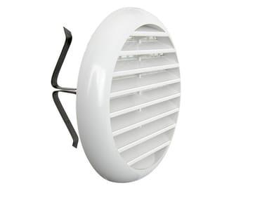 Griglia di ventilazione rotonda in ABS TUR100B | Griglia di ventilazione