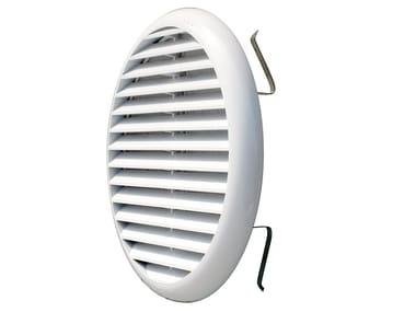 Griglia di ventilazione rotonda in ABS TUR160B | Griglia di ventilazione