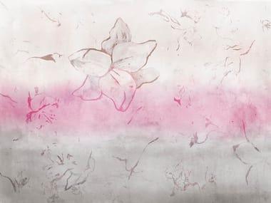 Papel de parede adesivo lavável estável aos raios UV de tecido estilo moderno TURNER WALL