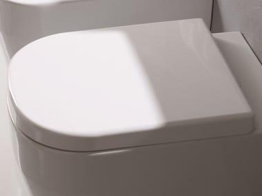 Plastic toilet seat TUTTO EVO | Toilet seat