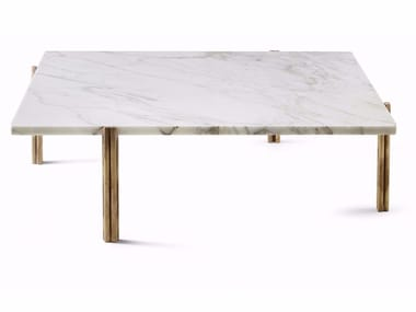 Square marble coffee table TWELVE | Square coffee table