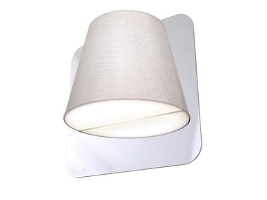 LED fabric wall lamp TWIN