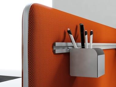 Workstation screen desktop partition TWIN | Workstation screen desktop partition