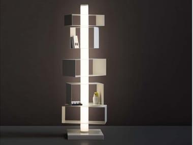 Libreria girevole con illuminazione TWIST&LIGHT