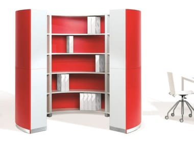 Office shelving / office booth TWIST | Freestanding office shelving