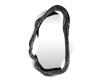 Wall-mounted framed mirror TWISTED K1481