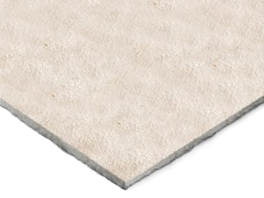 Sound insulation and sound absorbing panel in mineral fibre TXT® Ecotex Light