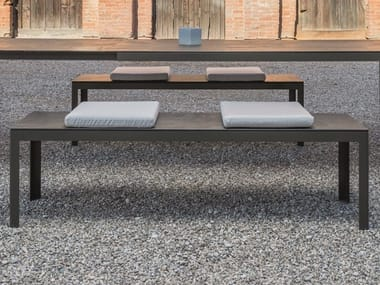 Incredible Galvanized Steel Garden Benches Archiproducts Beatyapartments Chair Design Images Beatyapartmentscom