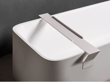 Aluminium soap dish for bathtub TYPE | Soap dish for bathtub