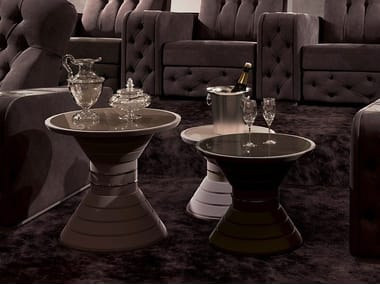 Round coffee table for living room Tavolino d'appoggio