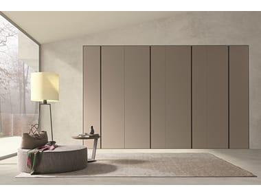 Contemporary style sectional wardrobe Tecnopolis anta battente TWIN