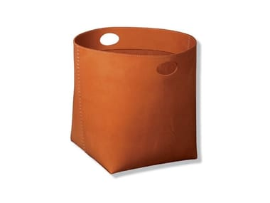 Tanned leather storage box TESO | GIANT 2
