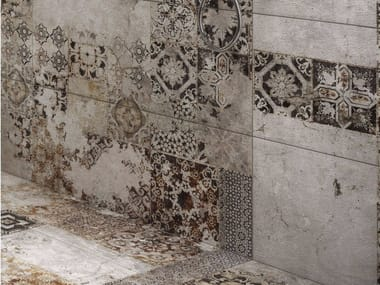 Porcelain stoneware wall/floor tiles Texture MAIOLICA