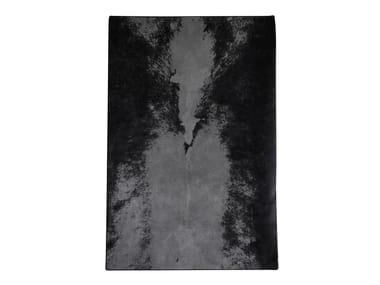 Rectangular wool rug The Dark Spine