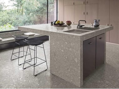 Porcelain stoneware kitchen worktop THE TOP KITCHEN
