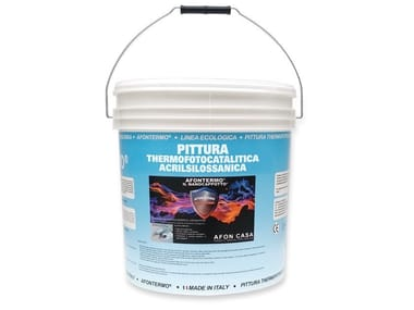 Anti-radiation reflective paint ThermoFotoCatalitic paint reflective
