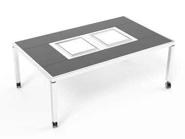 Dining table with Teppanyaki Tokyo Dining Table