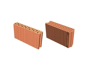 Clay block for internal partition POROTON® Clay block for partition