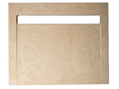 Rectangular extra flat Trani stone shower tray Trani stone shower tray