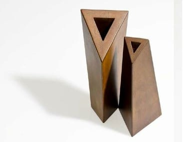 Steel vase VASES