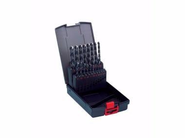 Helical Bit Twist drill bits assortment 19pz. 1-10mm