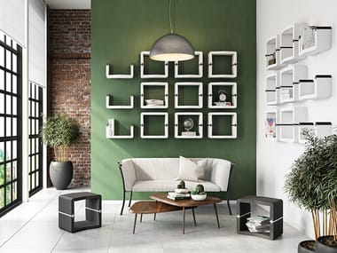 Modular shelving system / wall cabinet U-CUBE | Open wall cabinet