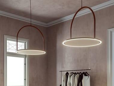 Lampada a sospensione fonoassorbente U-LIGHT | Lampada a sospensione acustica