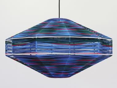 Handmade cotton pendant lamp UFO