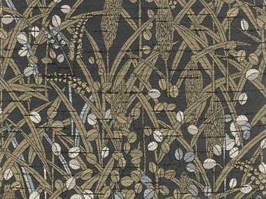 Jacquard fabric with floral pattern UKIYO MONOGATARI