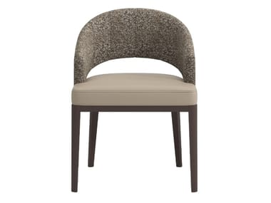 Open back fabric chair ULISES