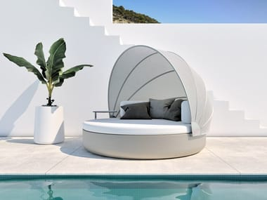 Round igloo garden bed ULM DAYBED | Round garden bed