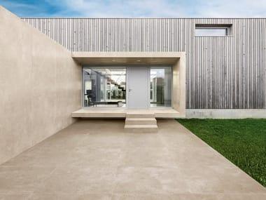 Pavimento/rivestimento in gres porcellanato per interni ed esterni ULTRA CON.CREA. - DOVE GREY