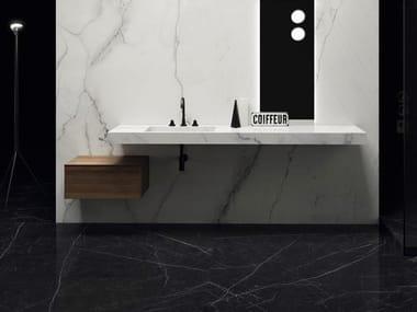Pavimento/rivestimento ultrasottile effetto marmo ULTRA MARMI - CALACATTA LINCOLN