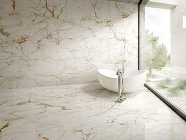 Porcelain stoneware wall/floor tiles with marble effect ULTRA MARMI - CALACATTA MACCHIA VECCHIA